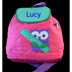 Personalised Owl Backpack