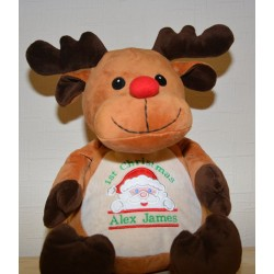 Embroider Buddy Personalised Reindeer