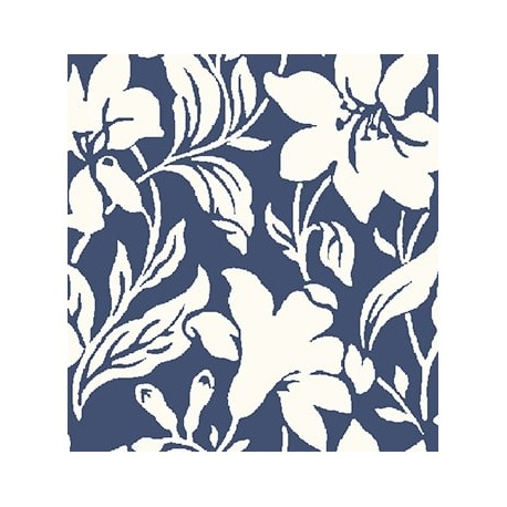 Liberty Hesketh Day Lily Navy 04775652X